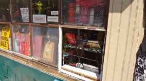 Shop of India window broken; alleged vandal grabbed, but not yet charged