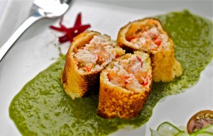 Crispy Lobster Roll at Caleb's American Kitchen