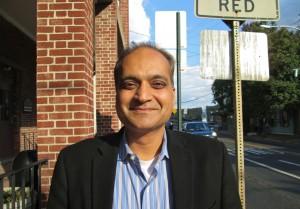 New Hope-Solebury School Board candidate Niraj Patel (Photo: Charlie Sahner)