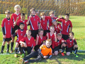 Solebury Fury U12 boys soccer team. (Photo: Sue Datin)