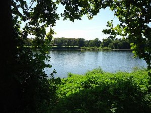 Washington's Crossing site as seen from New Jersey