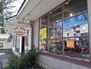 New Hope Candle Shop on South Main Street