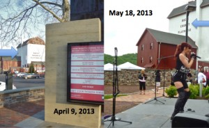 Bucks County Playhouse owners painted a river-facing sign without a permit, say officials