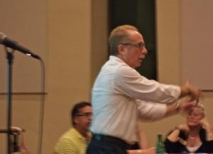 New Hope Chamber of Commerce President Roger Green