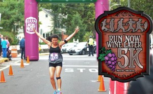 new hope free press run now wine later 5K