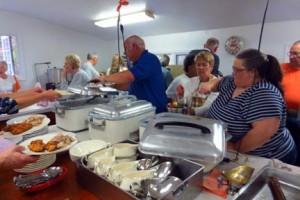 new hope free press oyster pork supper carversville