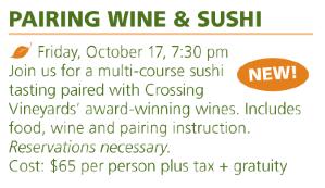 wine n sushi