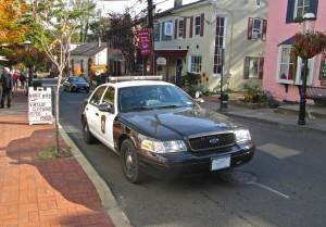 New Hope Free Press police car