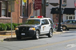 new hope free press police car