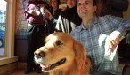 Baxter steals the photo op