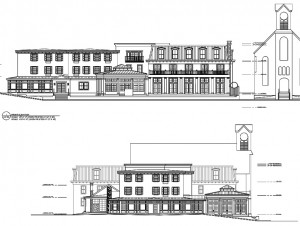 Logan Inn rendering new hope free press