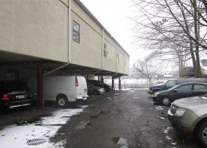 Parking to the rear of Four Seasons Mall