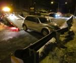 New hope free press police car crash