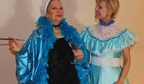 Meg Waldowski as Mrs Tottendale (L), and