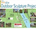 Outdoor Sculpture Map