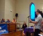 borough council meeting new hope