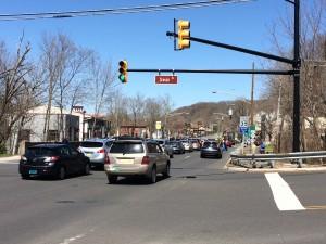 Weekend traffic often resembles the PM Rush Hour (Photo: Steve Chernoski)
