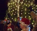 Last year's tree lighting.