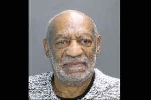Mug shot of Bill Cosby taken by Cheltenham Township police following his arraignment Wednesday.