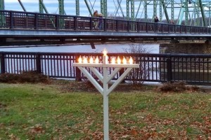 Chanukah on the Delaware 2015