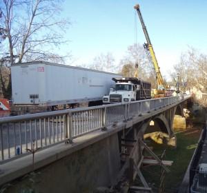 Stockton Avenue bridge in New Hope