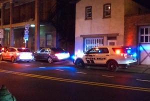 Lambertville police traffic stop at New Hope side of bridge on Dec. 7 at 7:27 p.m.