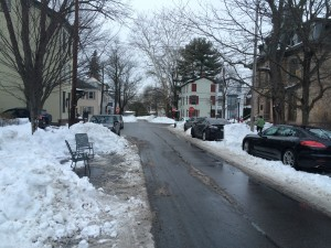 Safesies across for City Hall in Lambertville