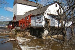 flooded bucks county playhouse new hope free press