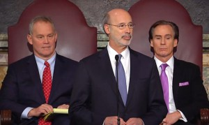 SPENDING SPREE: Pennsylvania Gov. Tom Wolf plans to increase spending as a way of fighting a $2 billion budget deficit.