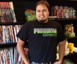 Phantasm Comics owner Greg Zuerblis.