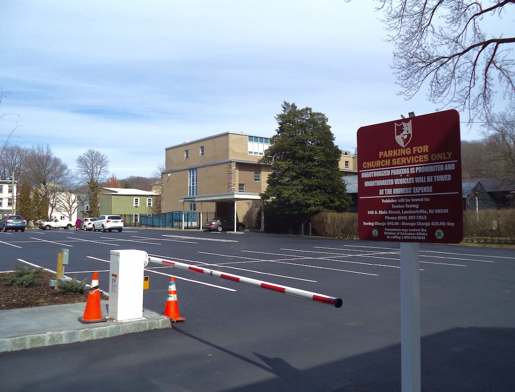Parking Lot And School New Hope Free Press