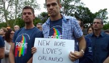 Vigil for Orlando - New Hope Free Press