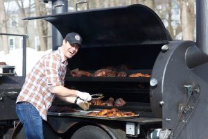 Owner and Pit Master Matt Martin.