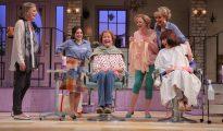 (L to R) Susan Sullivan, Lucy DeVito, Jessica Walter, Clea Alsip, Elaine Hendrix, and Patricia Richardson (Photo: Joan Marcus)