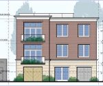 Rendering of proposed structure at 46 N. Main St.