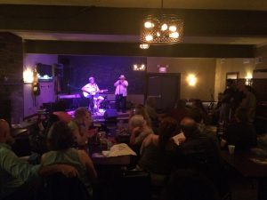 Musicians at the inaugural Lambertville Elks Open Mic Night