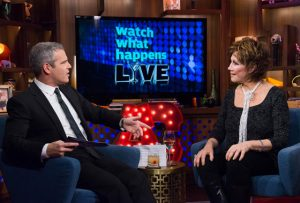 Michele Lee on Andy Cohen's Bravo 'Watch What Happens Live.'