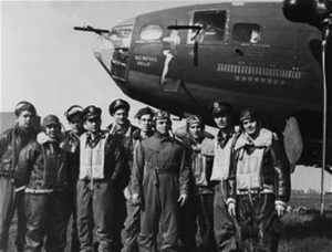 Crew of the Memphis Belle in WWII.