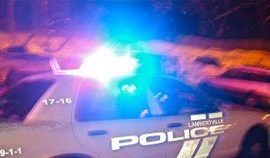 lambertville police by Charlie Sahner
