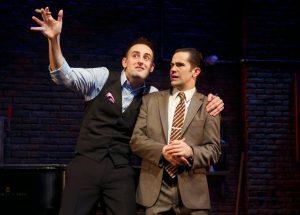 Joe Kinosian and Brett Ryback. (Photo: Joan Marcus)
