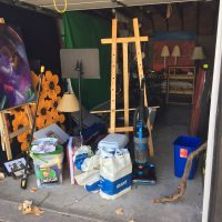 Garage Bay for rent in downtown New Hope/Perfect for an Artist Studio